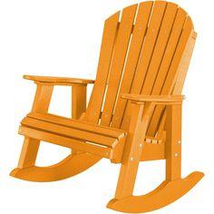 Wildridge Recycled Plastic Heritage High Fan Back Rocking Chair