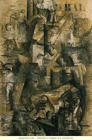 Georges Braque, 1911 the portuguese. oil on canvas. Kunstmuseum, Basilea,