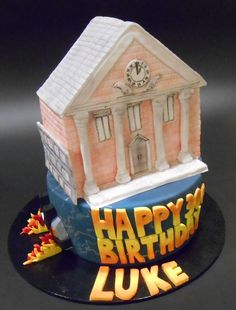 Back to the Future Birthday Cake - by Nada's Cakes Canberra