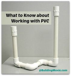 diy pvc pipe projects | Polyvinyl chloride, better known as PVC , is a thermoplastic that has ...