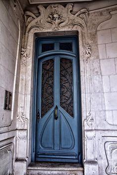 Art Nouveau Doorway Photograph