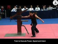 Shaolin Wooden Dummy 蔡李佛陳家 - Chinese martial arts http://m.youtube.com/watch?v=7pH1CRAlXck&feature=youtu.be