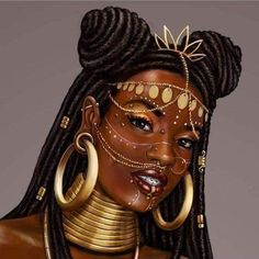 """Afro Punk Princess"" Illustrated by art afro Black Girl Cartoon, Black Girl Art, Black Girl Magic, Art Girl, Afrika Tattoos, Estilo Tribal, Afrique Art, Natural Hair Art, Black Art Pictures"