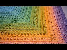 Crochet Shawl, Knit Crochet, Stitch, Knitting, Blanket, Tutorials, Youtube, Shawl, Ponchos