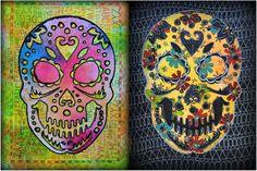 """<p>Tra le tante """"mode grafiche"""" di questo periodo, sono stata contagiata da quella dei Sugar Skull, teschi colorati e gioiosi che prendono il nome daidolcetti Messicanifatti di zucchero, dolci, caramelle che vengono preparati in occasione delDias de los Muertos. Hanno un carattere gioioso e non sono quindi simbolo macabro o …</p>"""