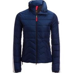Bogner - Fire+Ice - Danea Down Jacket - Women s - Indigo White Clothes e0c680b43