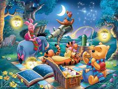 Winnie the pooh--summer picnic!