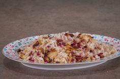 Greek Beauty, Greek Recipes, Pasta Recipes, Cauliflower, Macaroni And Cheese, Oatmeal, Rice, Tasty, Vegetables