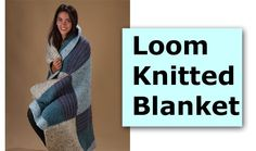 Loom Knitted Blanket « The Home Channel