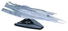 "Mass Effect 9"" Silver-Plated Limited Edition Alliance Cruiser"