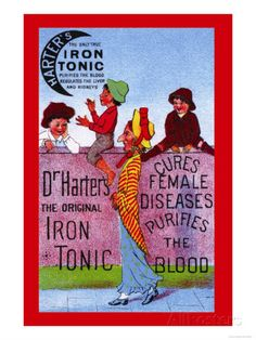 Dr. Harter's Iron Tonic Prints - AllPosters.co.uk