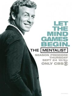 The Mentalist - gorgeous Australian Simon Baker.