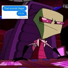 Image result for hyenakay invader zim | also you guys, this is emomera its my new acc...