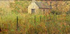 Richard Schmid, Great American Figurative Artist, Waterhouse Gallery, Figurative Painter, Original Oil, Impressionist Landscape painter