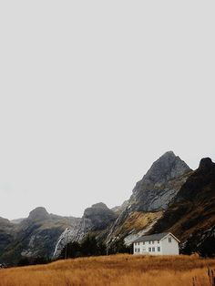 small place, mountains.