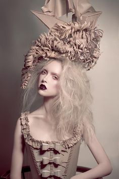 Nat Shermans and Guerlain: Photo Inspiration. Not sure this qualifies as Gothic but I love it!
