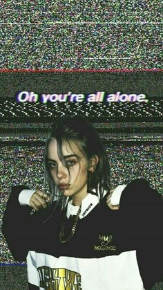 Billie Eilish Aesthetic Wallpaper Sad 35 Ideas For 2019 Billie Eilish, Wallpapers Android, Cute Wallpapers, Iphone Wallpaper, Phone Backgrounds, Sad Wallpaper, Tmblr Girl, Videos Instagram, Album Cover