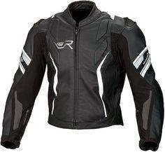 Macna Rapid race-fit leather motorcycle jacket