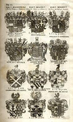 Spener, Philipp Jakob: Historia Insignium Illustrium Seu Operis Heraldici Pars Specialis. - Frankfurt <Main>, 1717. Frankfurt, Maine, History, Mannheim, Crests, Pictures