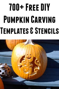 700+ Free DIY Pumpkin Carving Templates and Stencils