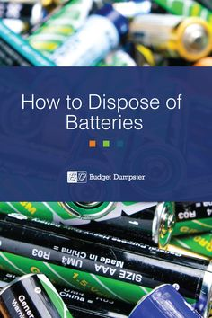 Learn all you need to know about throwing away your old single-use and rechargeable batteries and how to recycle both types of batteries properly. #recycling #sustainability #green Do You Know What, Need To Know, Battery Recycling, Trash To Treasure, Reuse, Sustainability, Repurposed, Budgeting, Encouragement