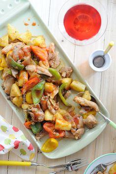 Pineapple & Pepper Stir Fried Chicken