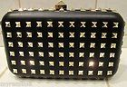 Valentino Garavani Rock Stud Miniaudiere Clutch New With Tags Retail $2295.00 - http://clutches-handbags-shoes.com/2014/01/valentino-garavani-rock-stud-miniaudiere-clutch-new-with-tags-retail-2295-00/