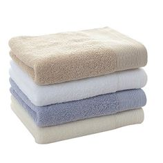 Lalago 4-pack Cotton Muiltcolor Towel Bath Towel Set (Mix... https://www.amazon.com/dp/B01AU5R318/ref=cm_sw_r_pi_dp_x_AXG8xb6W1JTEZ