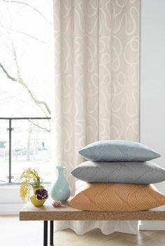 #curtains #gordijnstoffen #satijnlook #satin #striped #strepen #interieurstoffen…