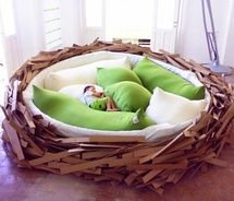 Giant Birdsnest Bed by O*GE  Inthralld