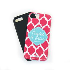 iPhone 5 or 6 Case - Brooke Coral