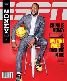 ESPN the Magazine covers - Chin Wang Design