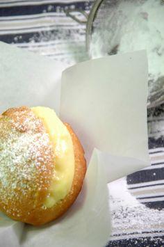 "Portuguese ""filled doughnuts"": Bolas de Berlim! YUMMY!!!!! :D"