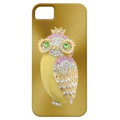 diamond owl iPhone 5 case