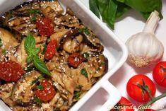 Insalata Melanzane pomodori secchi ricetta light