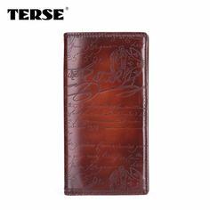TERSE handmade Italian leather wallet