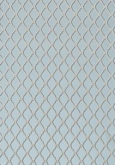 Rothbury Trellis metallic on slate grey #Thibaut #Geometric