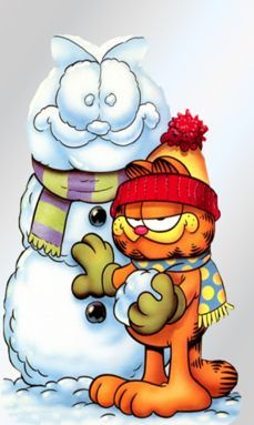 Yes Garfield when u were a series me growing up u been my fav to n always will even though u ended long ago to Garfield Cartoon, Garfield Comics, Garfield Quotes, Garfield And Odie, Garfield Christmas, Christmas Cartoons, Cartoon Kunst, Cartoon Art, Donut Cartoon