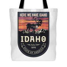 More products added to our store.  Check out this Idaho Tote Bag (3... here:  http://www.nanathenoodle.com/products/idaho-tote-bag-3-styles?utm_campaign=social_autopilot&utm_source=pin&utm_medium=pin