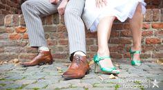 » Lucky Girls: gave groene schoenen en een korte witte trouwjurk » Arnhems Meisje