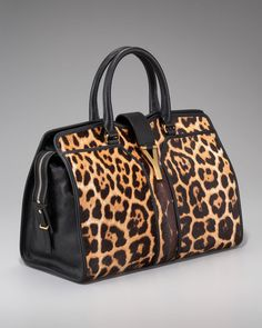 Cabas Chyc Leopard-print Tote - Lyst