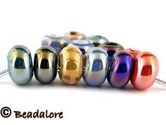 CA 6 Shimmering AB Euro beads . Starting at $5 on Tophatter.com!