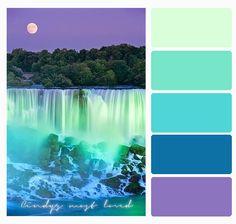 Color Palette Niagara Falls