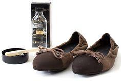 Saphir Widlederreiniger für die Schuhe aus Nubukleder