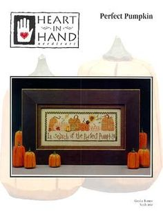 Perfect Pumpkin Cross Stitch