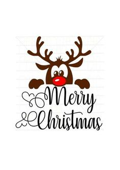 Baby reindeer Merry Christmas svg file Christmas prompt obtain Use with Cricut or Silhouette SVG lower file First Christmas svg dxf - Christmas Tips Merry Christmas Images, Christmas Vinyl, First Christmas, Christmas Projects, Christmas Greetings, Merry Christmas Wishes, Christmas Stencils, Christmas Design, Merry Xmas