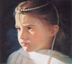 "Christine Swan ""The Pearl Princess"" Best Portrait Award and People's Choice Award in the National Northeast Pastel Competitio..."