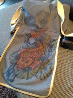 Bag with koy design