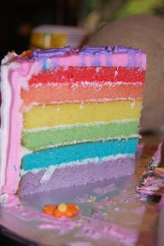 Inside View of My Little Pony Cake