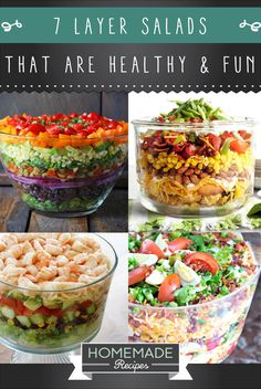 our layer salad